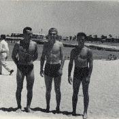 На берегу Мексиканского залива. 1964