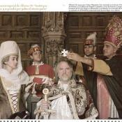 В роли средневекового короля Испании и Франции Альфонса VII. Реконструкция прошлого Леонского королевства. Фото 2.