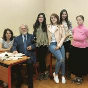 Магистранты лингвистики. Международный Университет в Москве.