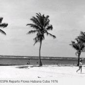 Пляж стадиона ESPA, район Флорес, 1976