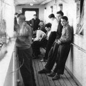 Сразу после погрузки на сухогруз «Лесозаводск», сентябрь 1962.