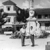 В кубинском городке
