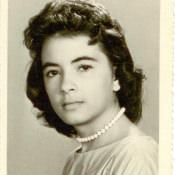 Девушка-кубинка, знакомая Шарапова В.Ф. Республика Куба. 1962 г.