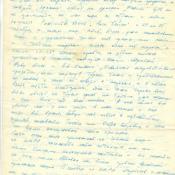 Письмо Коровинской Валентине Степановне от Коровинского Игоря Михайловича. Фрагмент 2