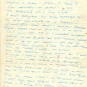 Письмо Коровинской Валентине Степановне от Коровинского Игоря Михайловича. Фрагмент 4