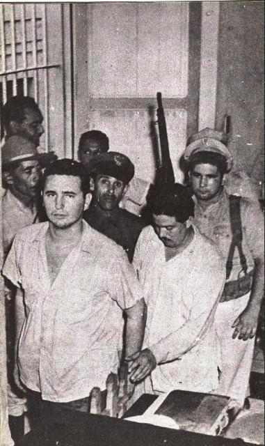Фидель Кастро. Снимки от 21 сентября 1953 года.
