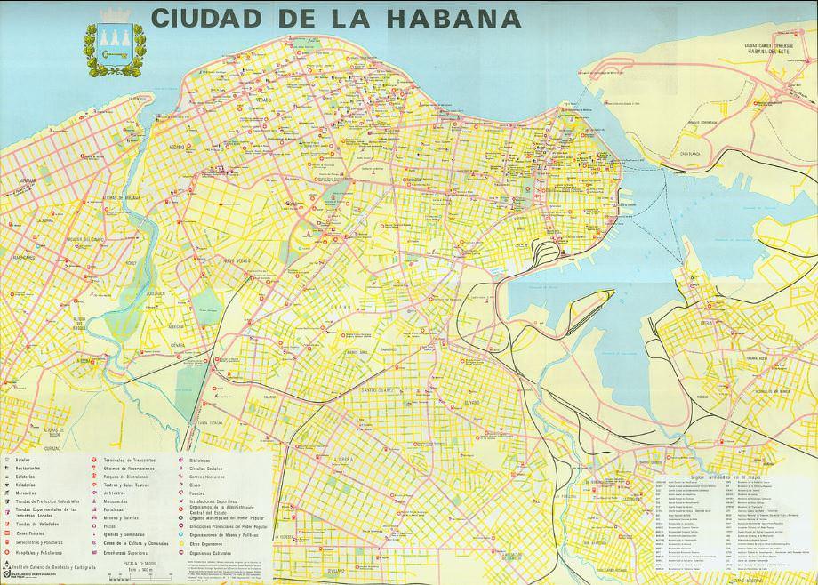 Карты Гаваны (1983 и 1990) от Zel