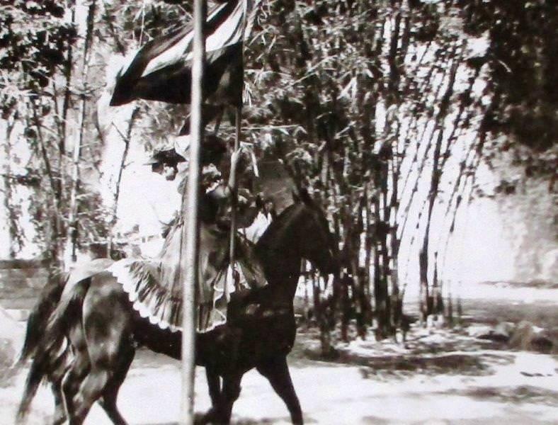 Родео в парке имени Ленина (1976-1982)