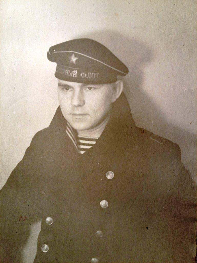 """Рыжков Феликс, спасатель """"Алдан"""", 1962-1965 годы"""