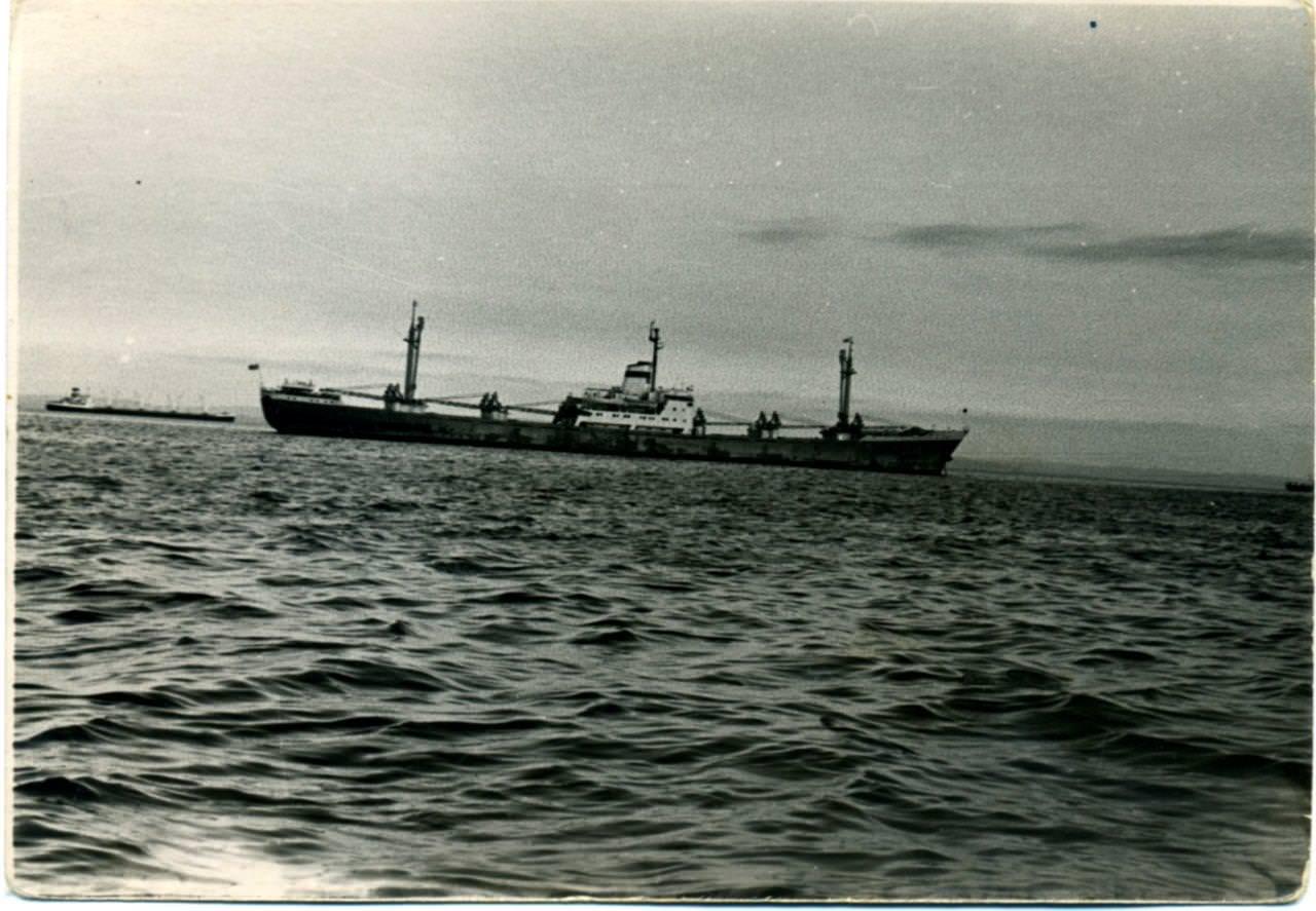 """Брыль Феликс Васильевич. Прорыв морской блокады на турбоходе """"Мир"""", октябрь 1962 года."""
