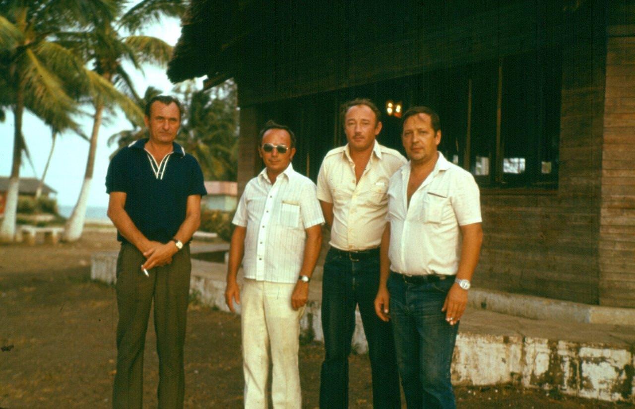 Павловский Сергей и его семья, Гавана, 1981–1983.