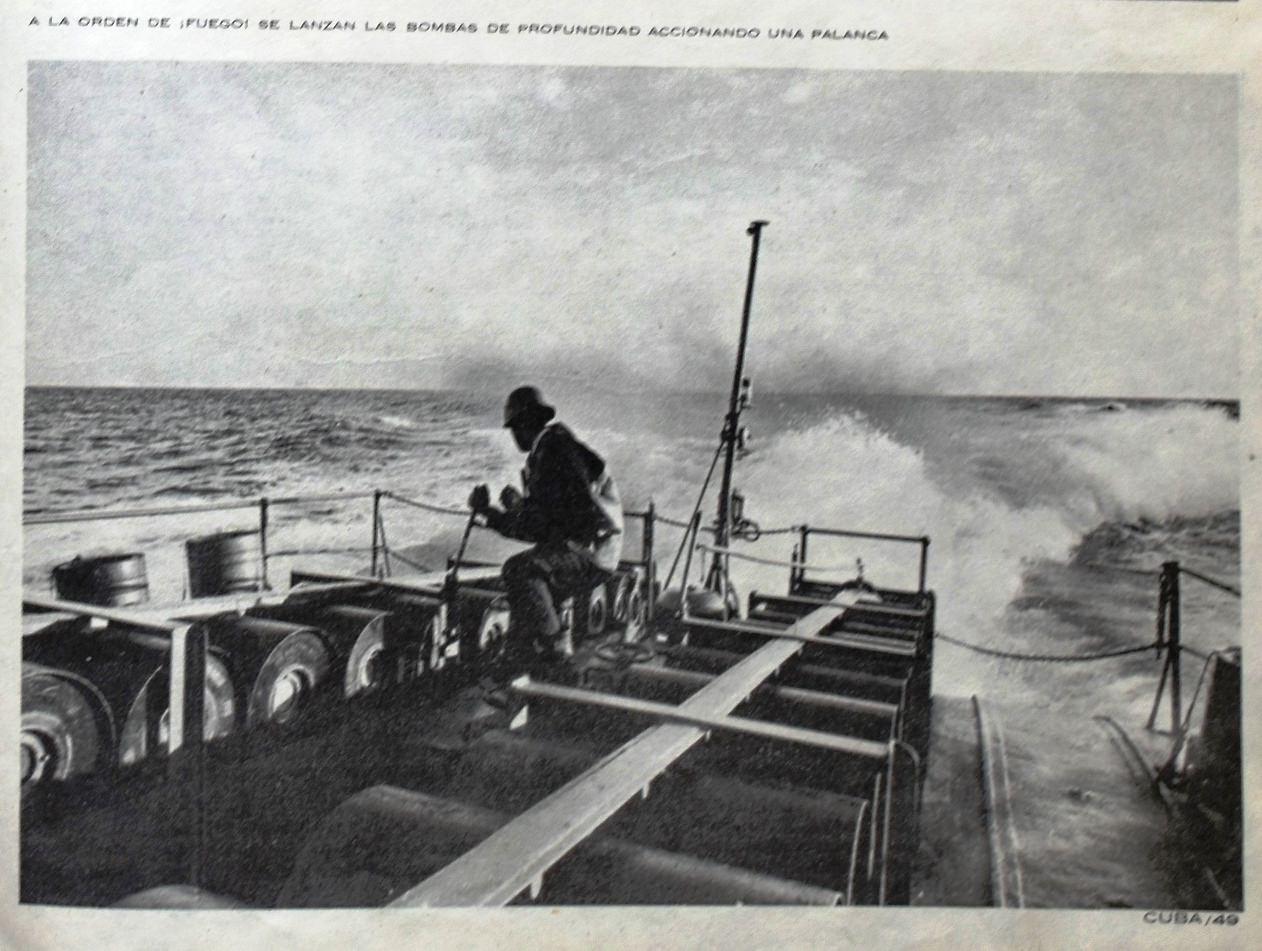 """Кубинские военно-морские силы. Из журнала """"Куба"""", март 1965 года."""