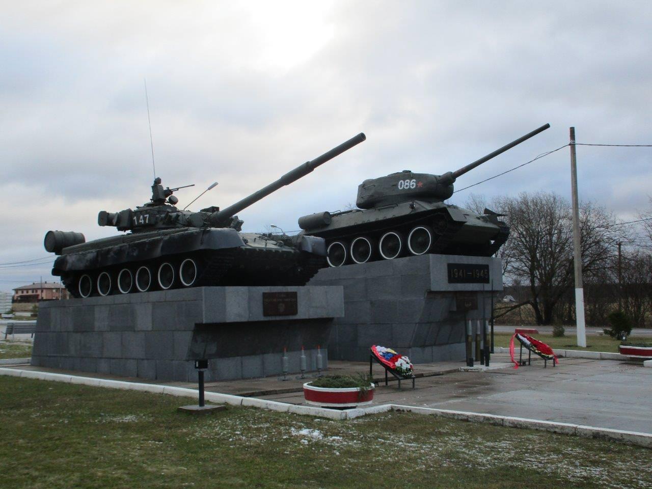 23 февраля 2020 года. Сертолово-2: памятник и музей при в/ч 71717.