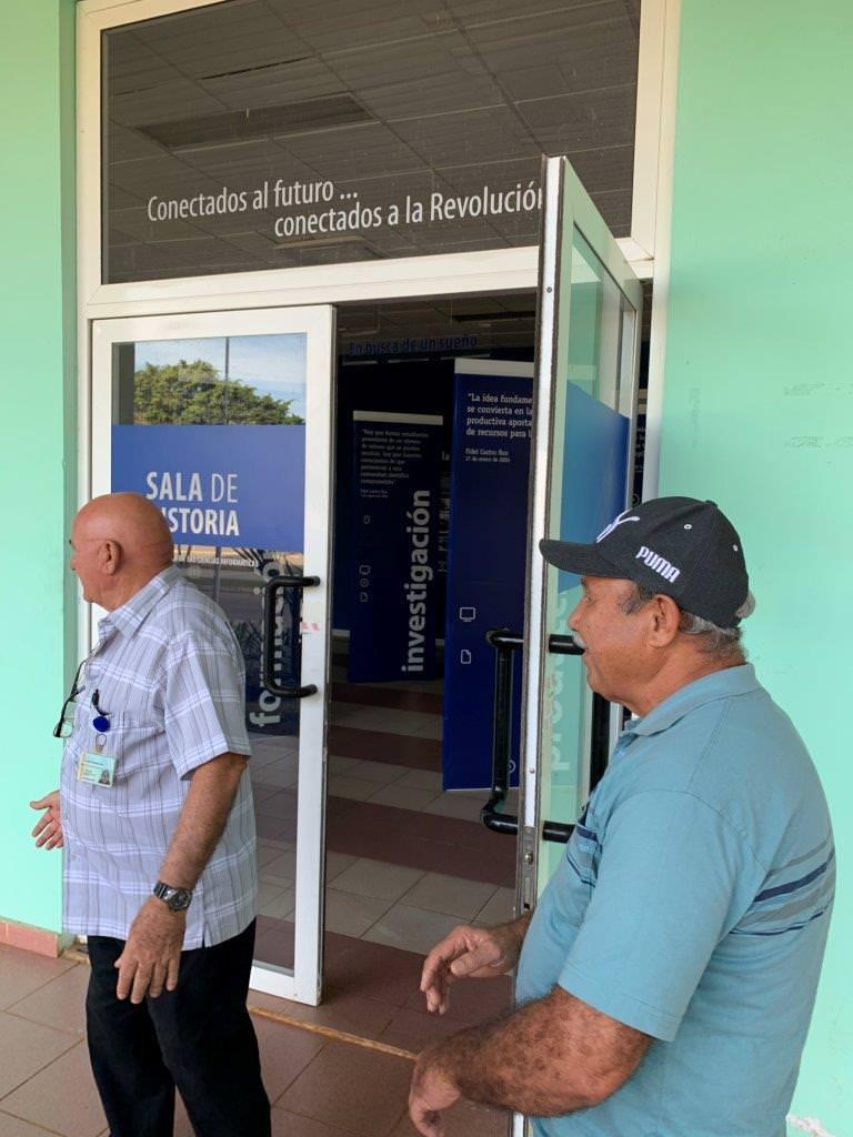 Кубинский музей в Торренсе. 7 марта 2020 года.