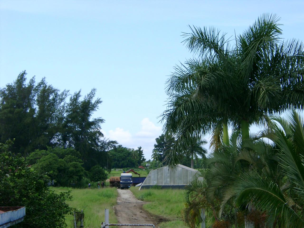 """2002 год. Территория в/ч п.п. 54234-В, """"Пальма""""."""