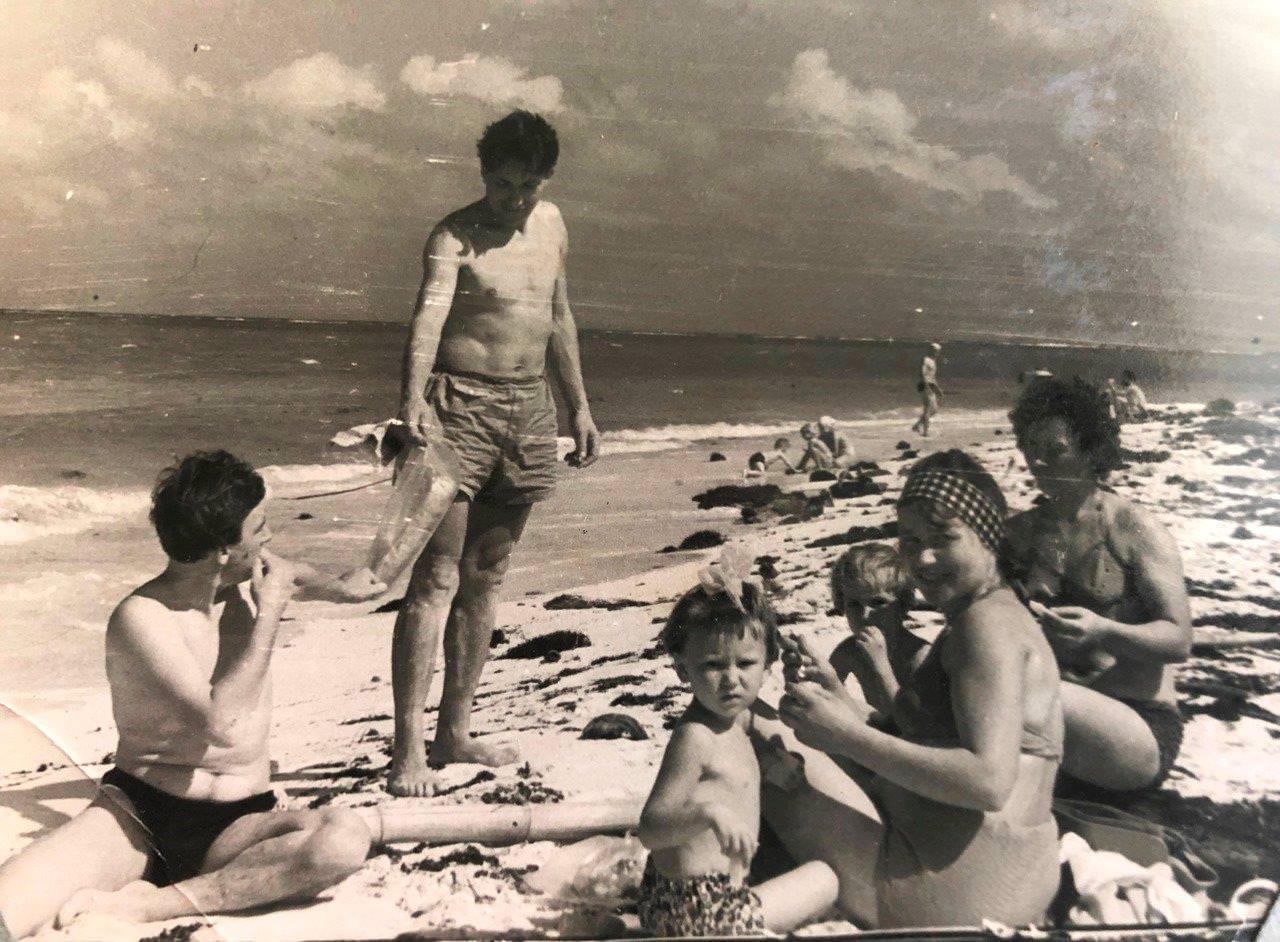 Семья Быковых, Ольгин, 1964-1965