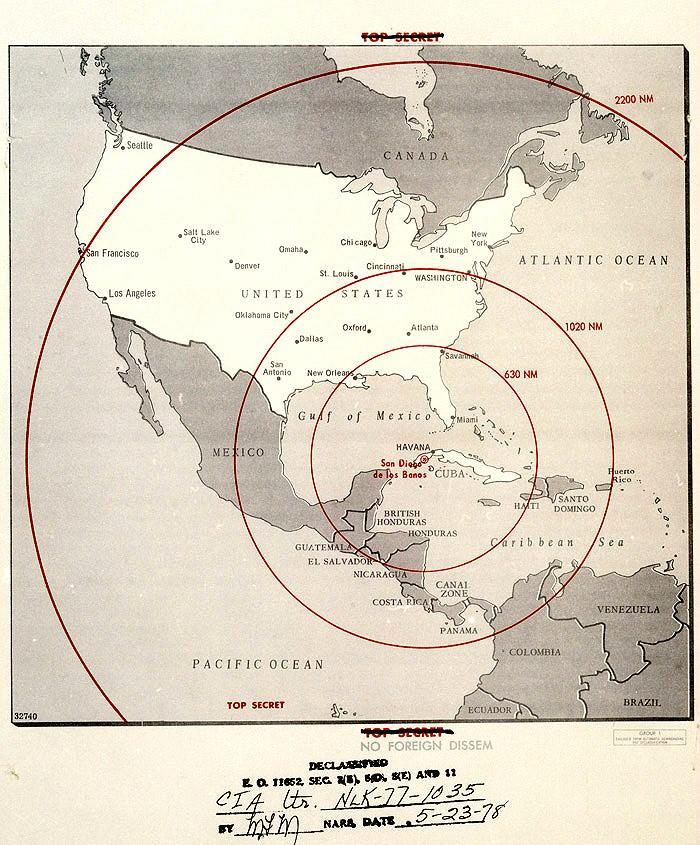 Бубнов Валерий. О ядерном оружии во время Карибского кризиса