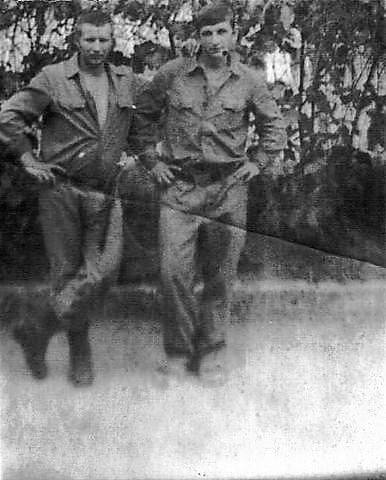 """Сивец Николай, в/ч. 54234 """"В"""", осень 1975 ― весна 1977"""