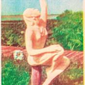 Индейская деревня, открытка 7