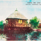 Индейская деревня, открытка 9