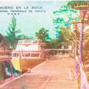 Индейская деревня, открытка 10