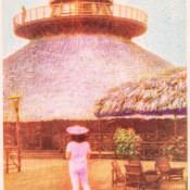 Индейская деревня, открытка 12