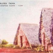 Индейская деревня, открытка 14