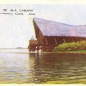Индейская деревня, открытка 16