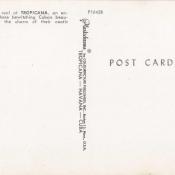 Буклет «Кабаре Тропикана», открытка 4, обратная сторона