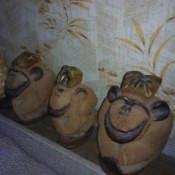 Три обезьянки из кокосов, ракурс 2