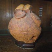 Обезьяна из кокоса, профиль