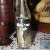 Бутылка «Гавана-Клаб»