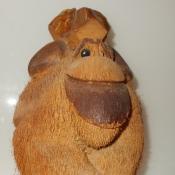 Обезьяна из кокоса.