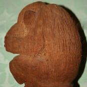 Обезьянка из кокоса, вид 2