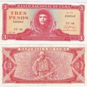 3 песо 1986 года