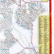 1956. Карта Кубы и Гаваны. 1 лист, 8 фрагмент