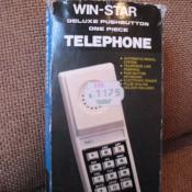 469. Кнопочный телефон. Середина-конец 80-х.