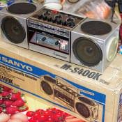 1987. Sanyo M-S400K. 2 ракурс