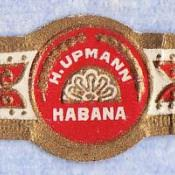 Наклейка на сигару марки «H. Upmann» (1979)