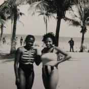 1992, пляж Санта-Мария, -03