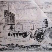 Калька 22. Подводная лодка