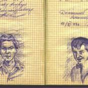1977-1978. Армейский блокнот. Лист 10
