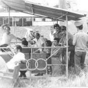 1979-1981.  На огневом городке