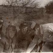 1975-1977. Канделярия, командир 3 танковой роты Обирин