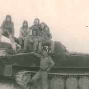 1982-1984. Алькисар. Плавающий танк ПТ-62.