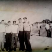 1975. Первый выезд в Гавану с дедами 3-ей танковой роты, на припортовку.