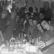 Встреча Нового года, медпункт 1974 год.