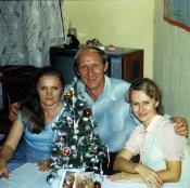 1985. Новый год 1985 Лужина, Шепелев, Корчевская.