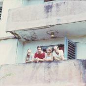 1985. Роло 3. Стас Гужва с женой Татьяной Корчевской (Одесса). Слава и Надя (фамилию забыл, из Дзержинска)