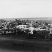 Окраина Моа, вид на океан. 1987